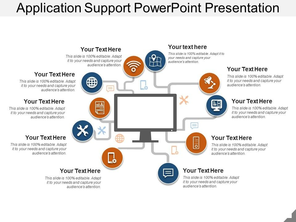 Application Support Powerpoint Presentation | PowerPoint