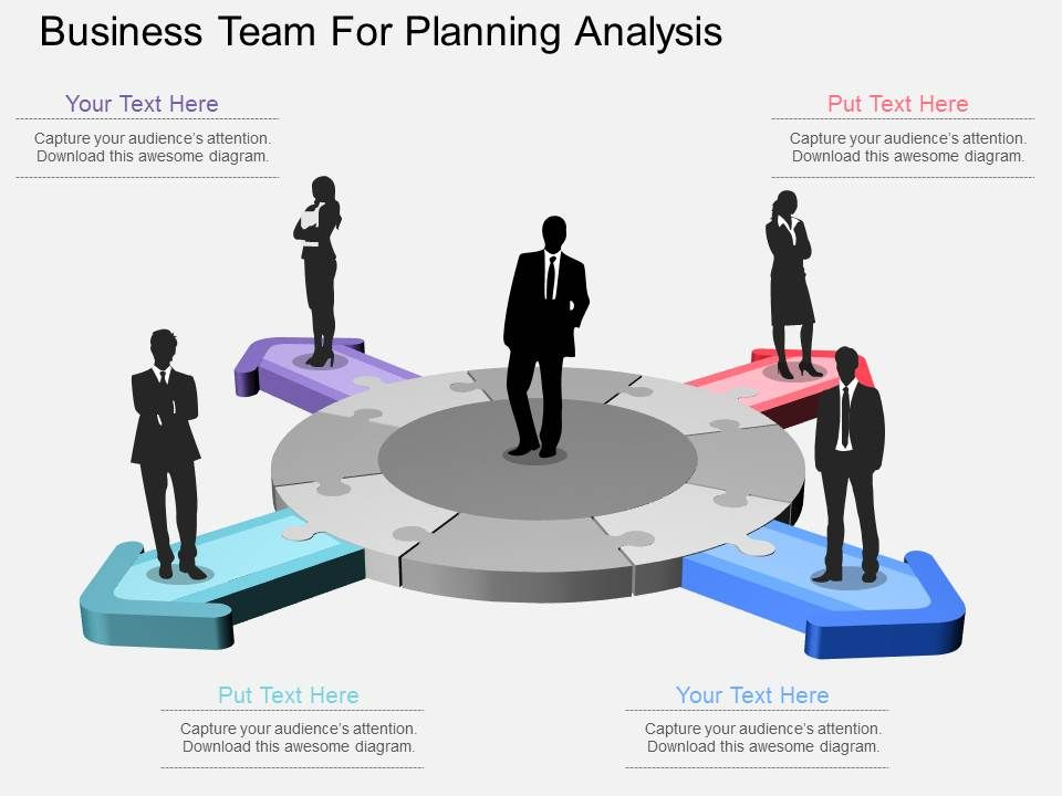 apt_business_team_for_planning_analysis_flat_powerpoint_design_Slide01