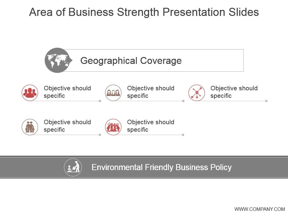 area of business strength presentation slides powerpoint templates