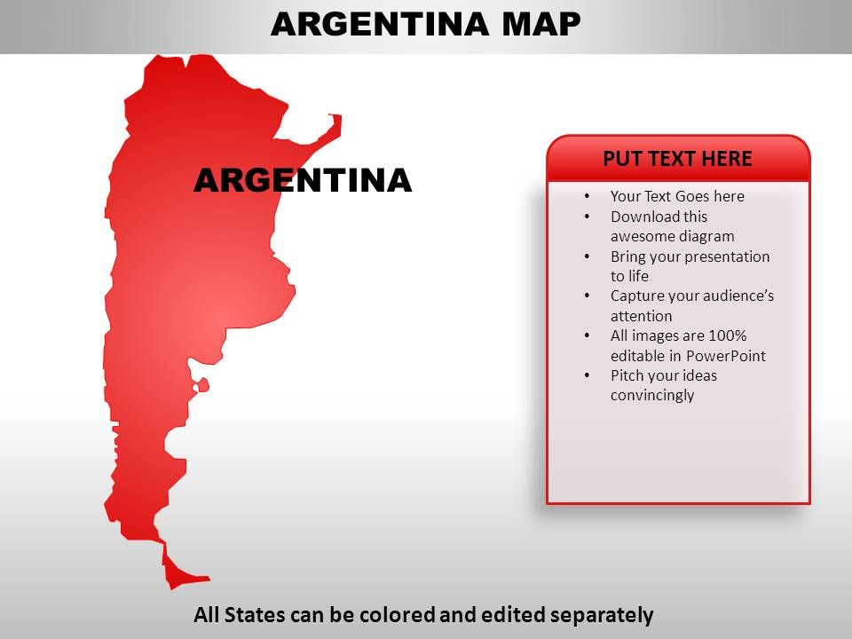 Argentina Country Powerpoint Maps   PowerPoint Presentation ...