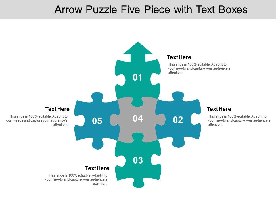 70062492 style puzzles mixed 5 piece powerpoint presentation diagram
