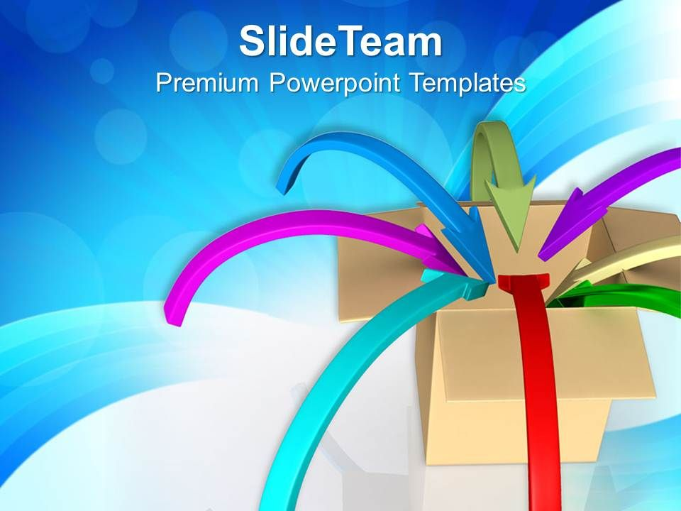 arrows_converging_in_box_business_powerpoint_templates_ppt_themes_and_graphics_0313_Slide01
