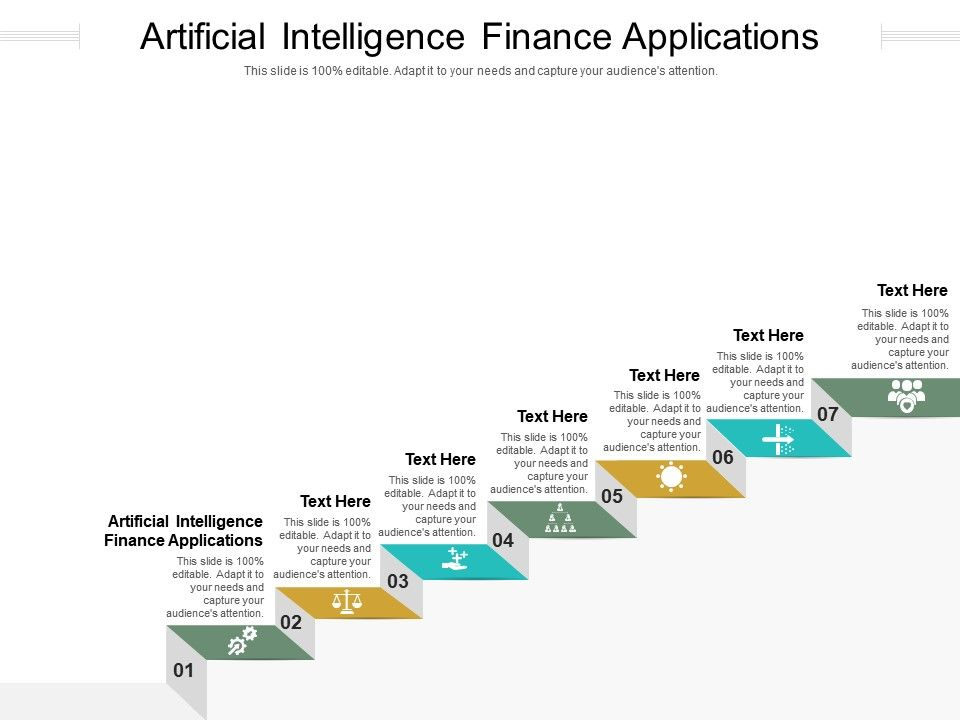 Artificial Intelligence Finance Applications Ppt Powerpoint Presentation Infographics Cpb