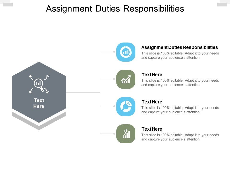 Assignment Duties Responsibilities Ppt Powerpoint