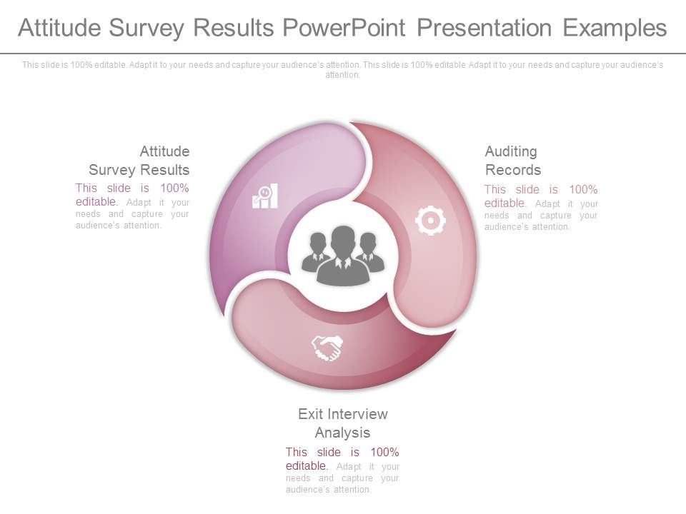 attitude survey results powerpoint presentation examples. Black Bedroom Furniture Sets. Home Design Ideas