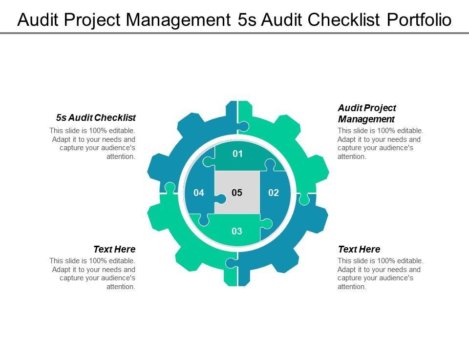 Audit Project Management 5s Audit Checklist Portfolio Analysis Tool