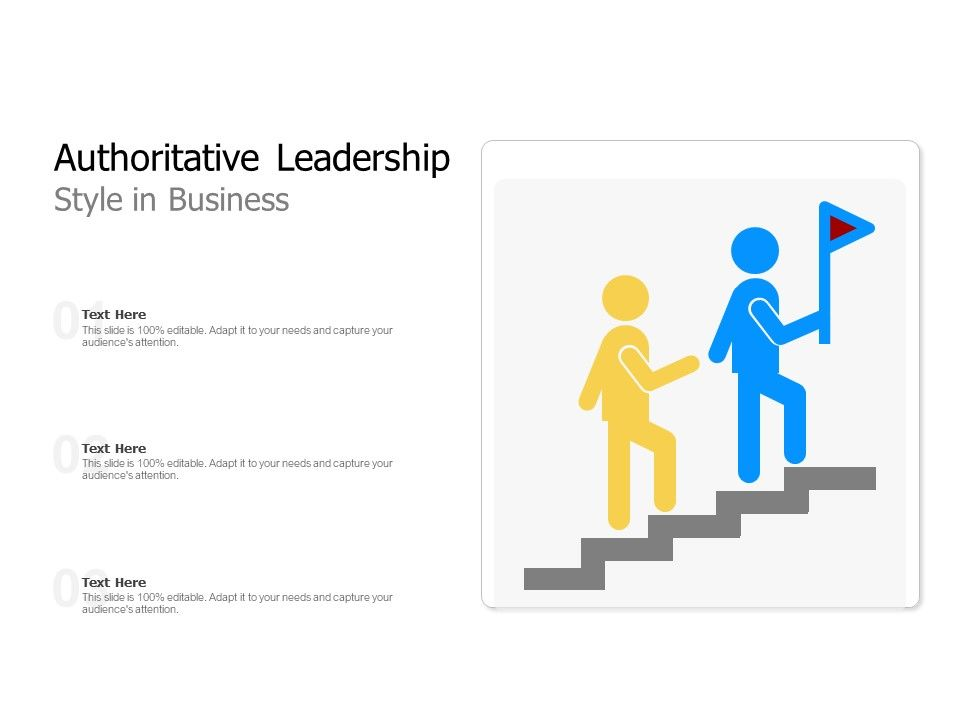 Authoritative Leadership Style In Business