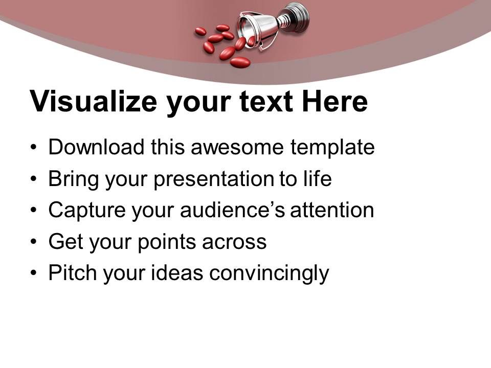 award winning ingredients medical powerpoint templates ppt themes, Modern powerpoint