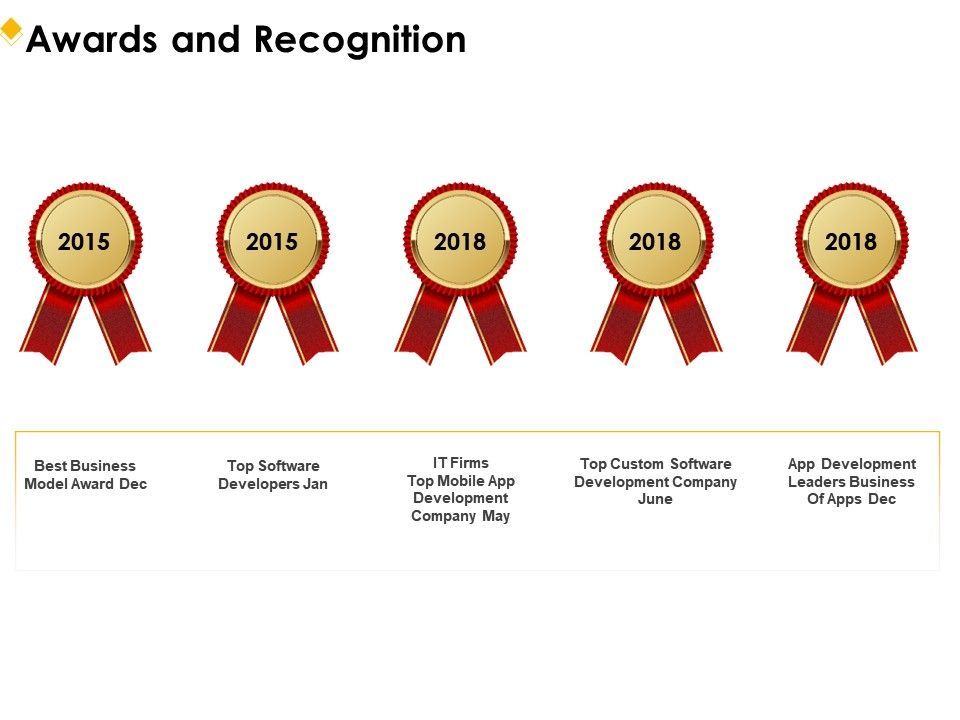 Awards And Recognition R262 Ppt Powerpoint Presentation File Design
