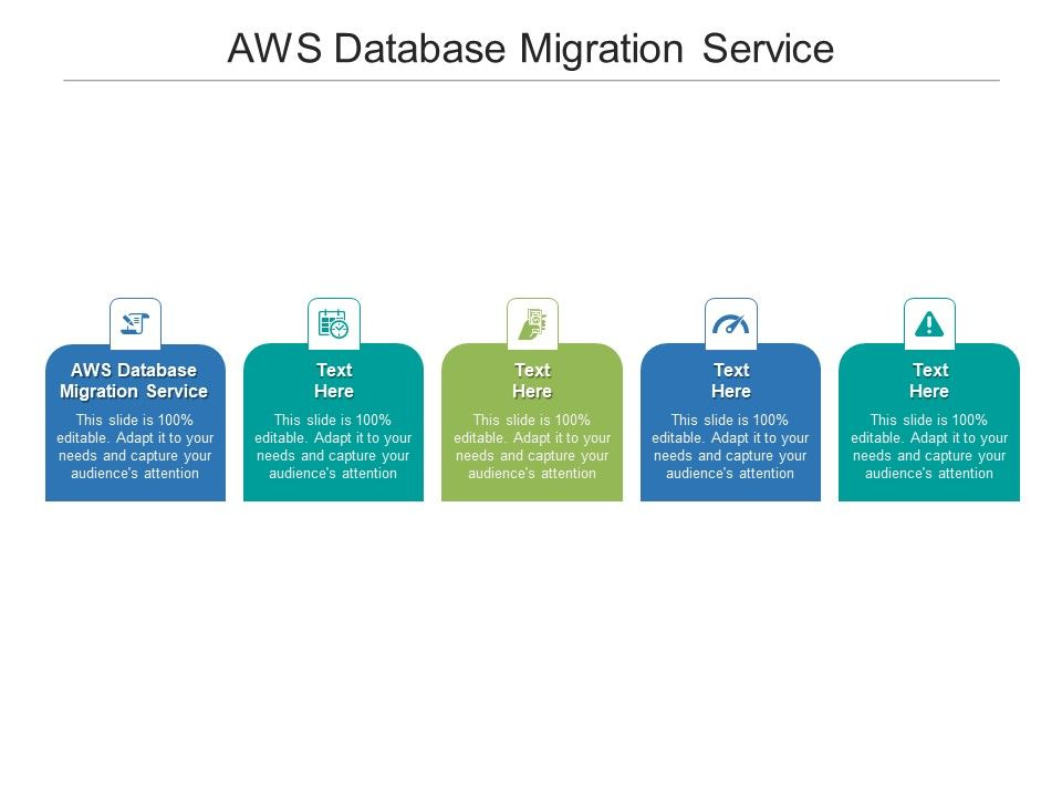 AWS Database Migration Service Ppt Powerpoint Presentation Portfolio Files Cpb