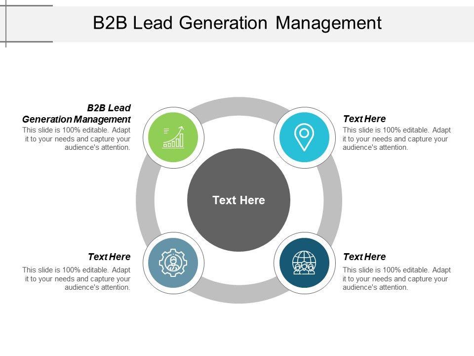 B2b Lead Generation Management Ppt Powerpoint Presentation Professional Cpb