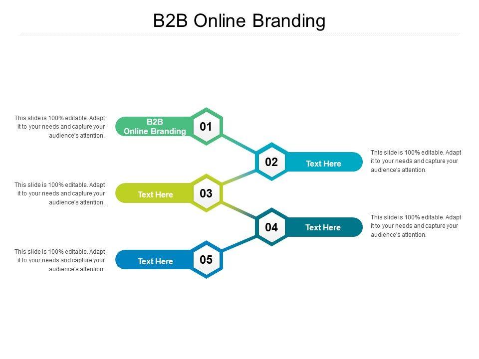 B2B Online Branding Ppt Powerpoint Presentation Infographics Smartart Cpb