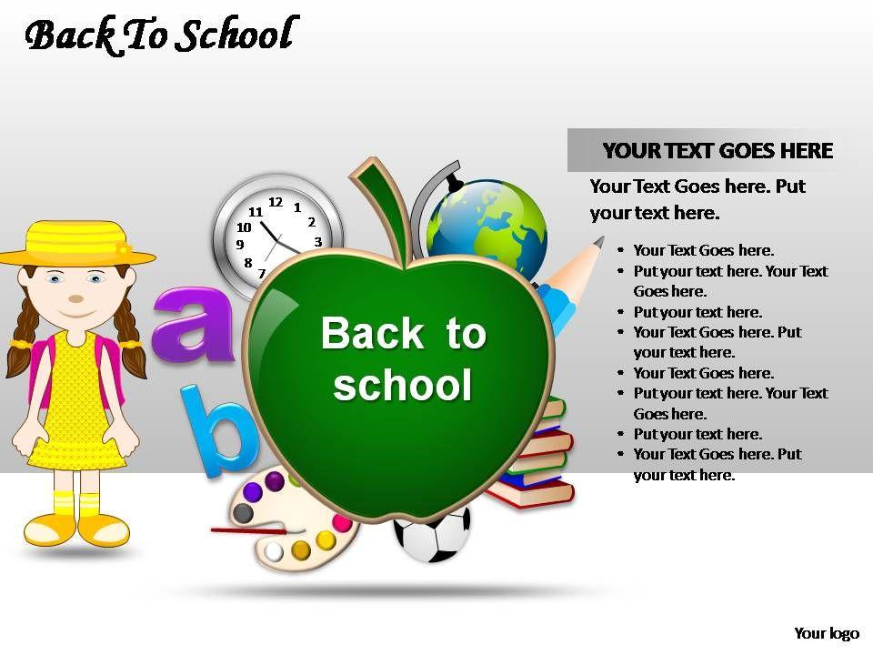 Back To School Powerpoint Presentation Slides | Presentation