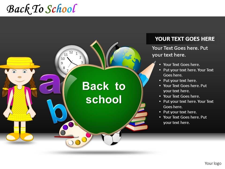 Back To School Powerpoint Presentation Slides DB | PPT