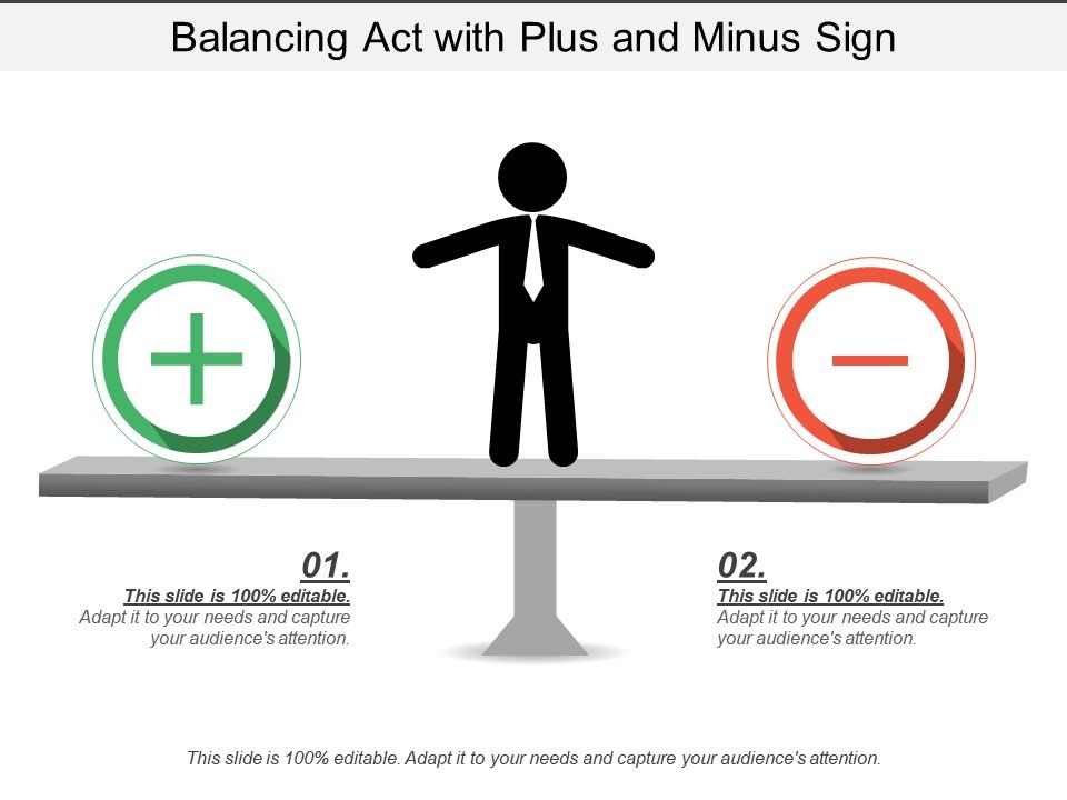 balancing_act_with_plus_and_minus_sign_Slide01