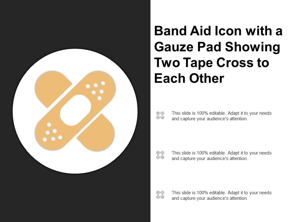 bandaid template band aid powerpoint template band aid size chart