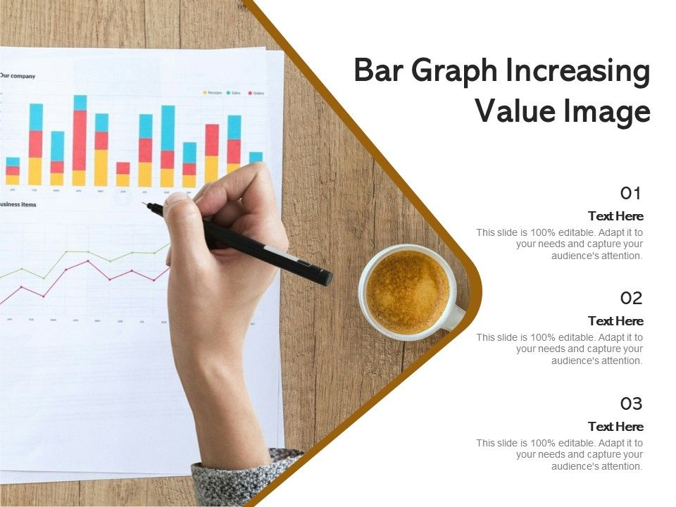 Bar Graph Increasing Value Image