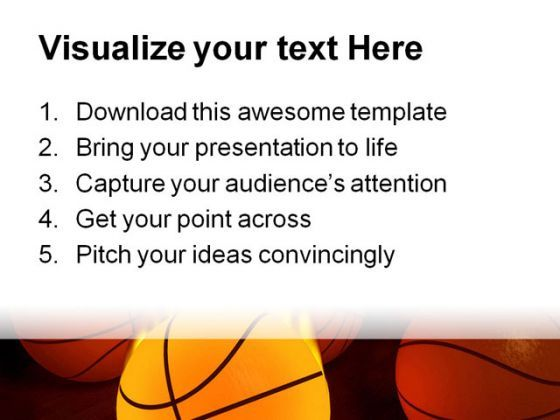 Basketball Sports Powerpoint Templates And Powerpoint Backgrounds