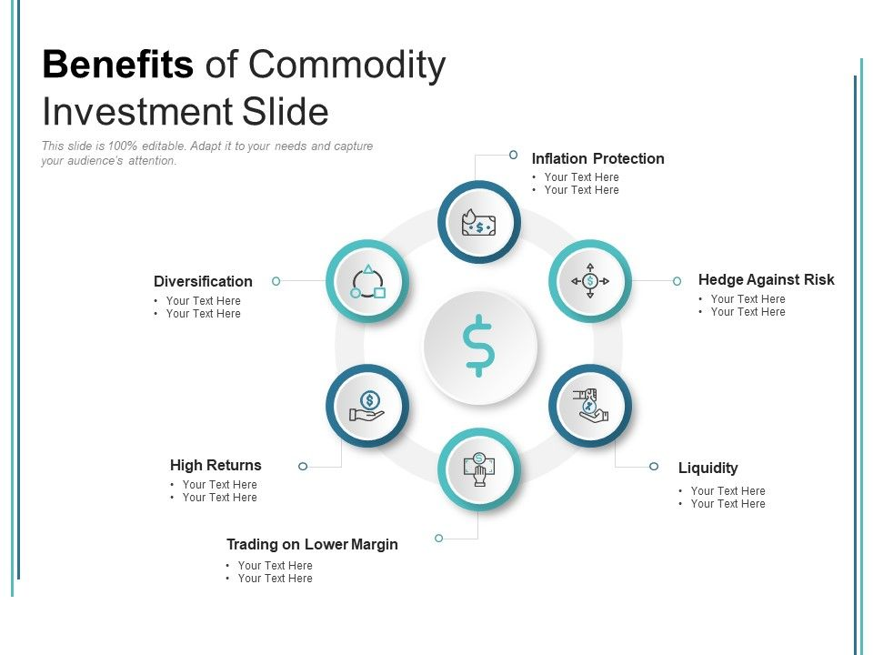 Benefits Of Commodity Investment Slide