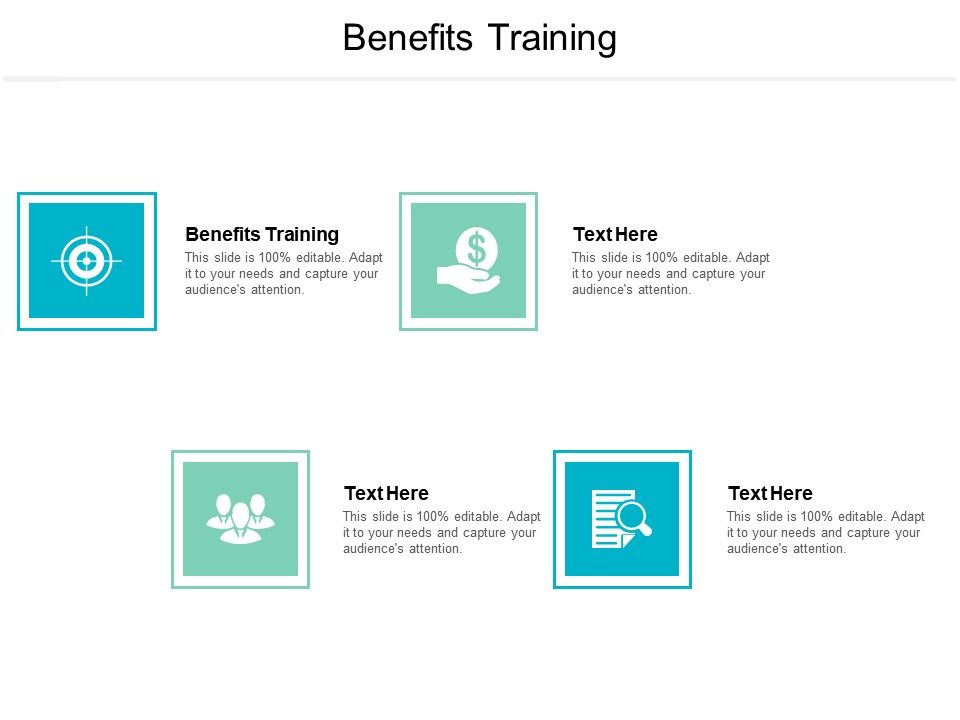 Benefits Training Ppt Powerpoint Presentation Infographic