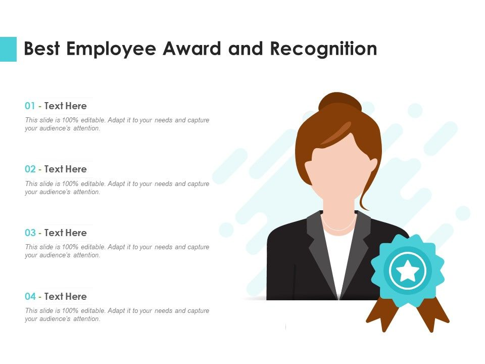 Best Employee Award And Recognition Infographic Template