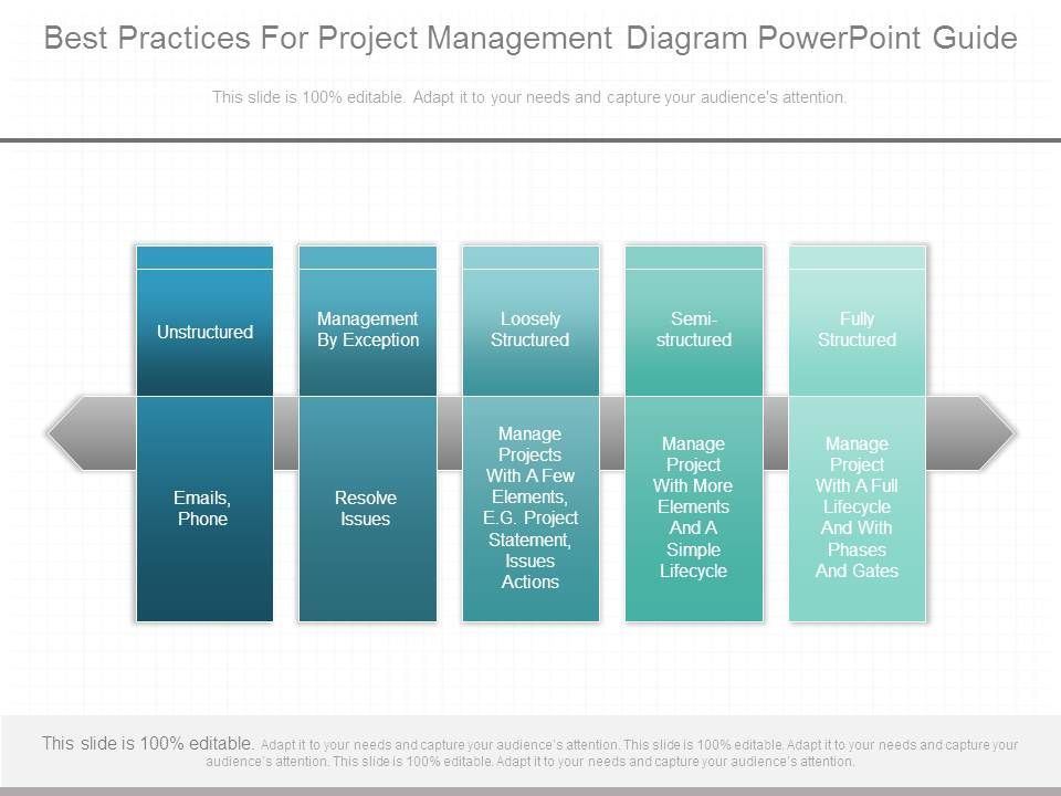 best practices for project management diagram powerpoint guide