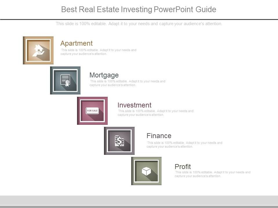 best real estate investing powerpoint guide template presentation
