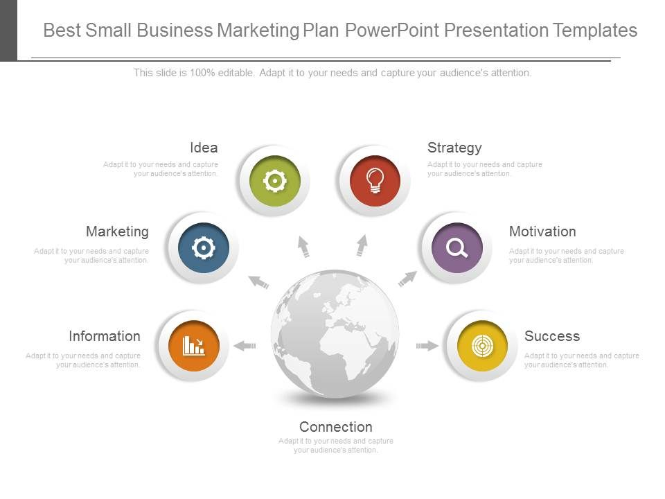 Best Small Business Marketing Plan Powerpoint Presentation - Small business marketing plan template