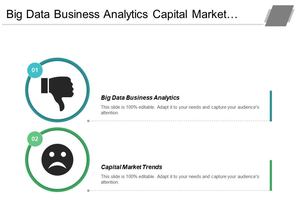 Big Data Business Analytics Capital Market Trends Iot Report Cpb