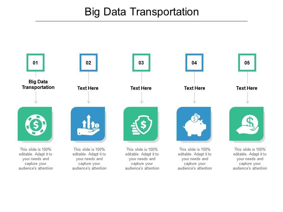 Big Data Transportation Ppt Powerpoint Presentation Styles Clipart Cpb