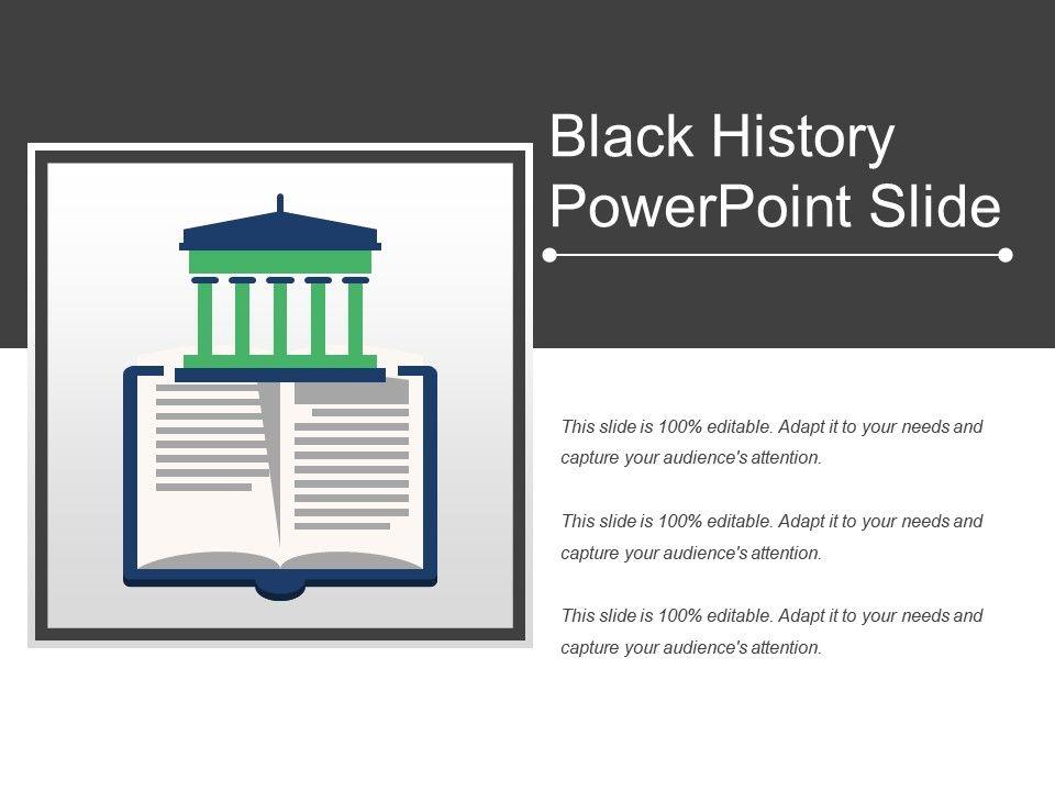 black history powerpoint slide powerpoint slide clipart example