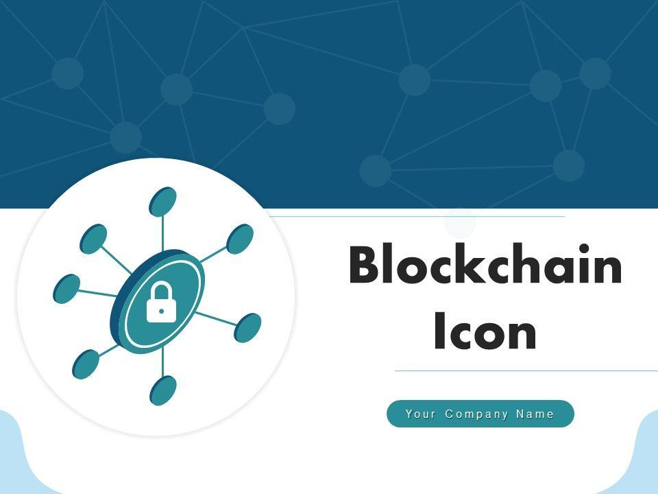 Blockchain Icon Symbol Circle Computers Encryption Security Technology