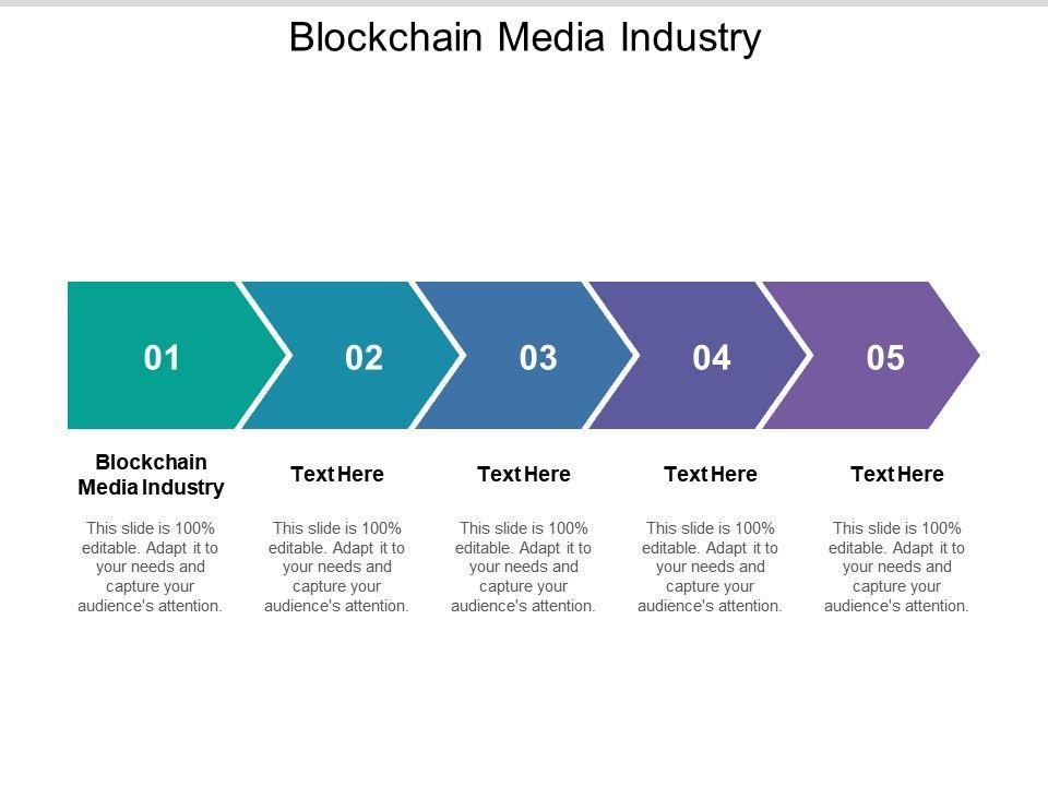 Blockchain Media Industry Ppt Powerpoint Presentation