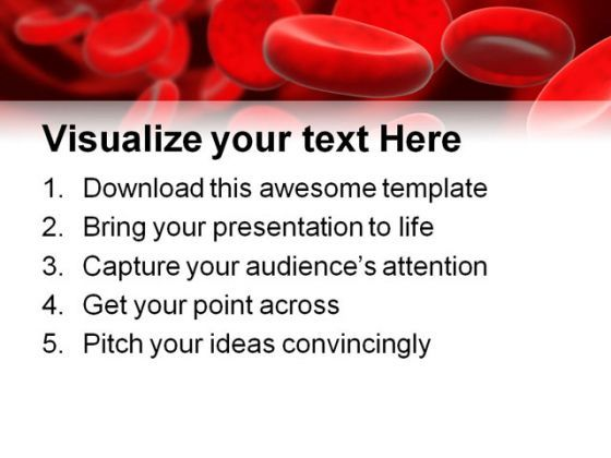 Blood cells medical powerpoint template 0610 templates powerpoint blood cells medical powerpoint template 0610 presentation themes and graphics slide03 toneelgroepblik Gallery