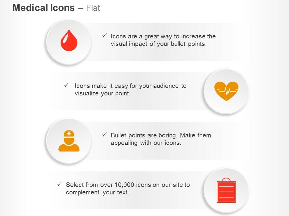 blood_drop_cardiogram_hospital_staff_report_ppt_icons_graphics_Slide01