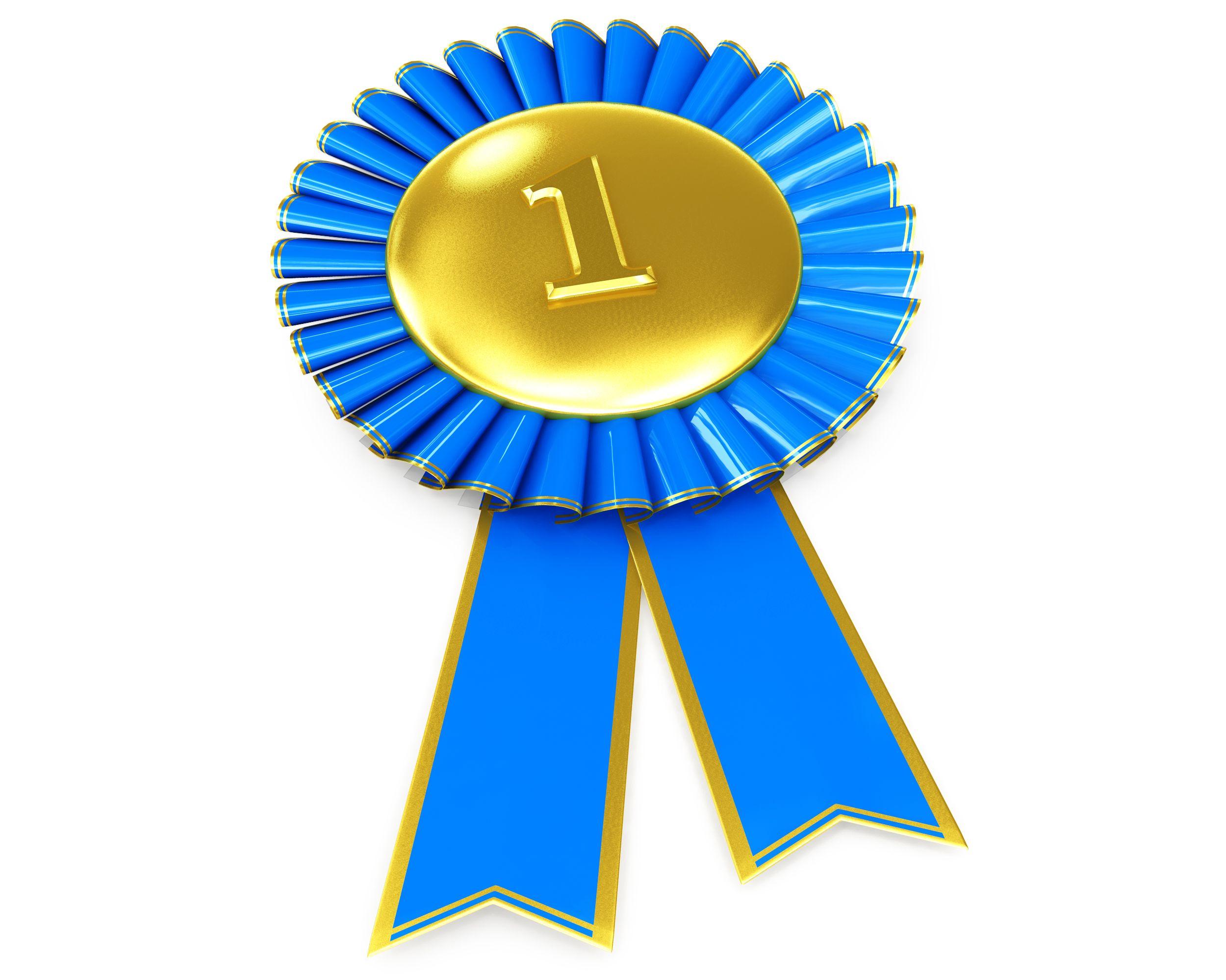 blue ribbon award template