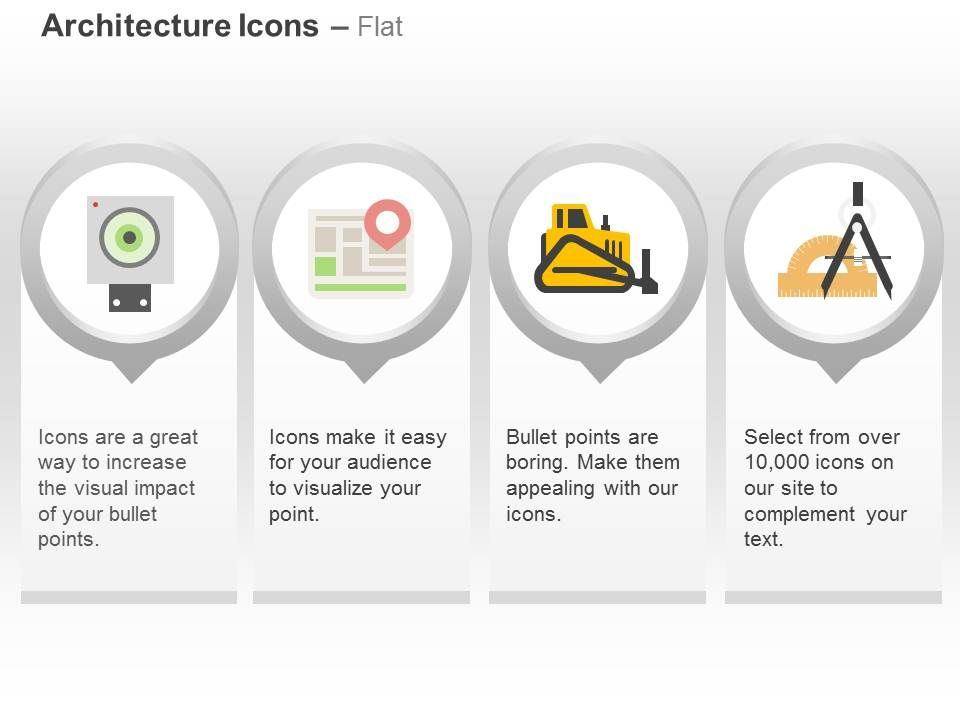 board gps navigation roller geometry tools ppt icons graphics