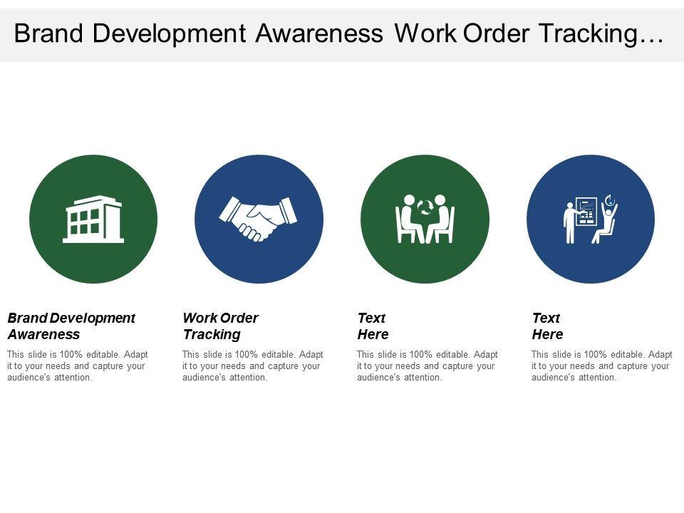 Brand Development Awareness Work Order Tracking Preventive