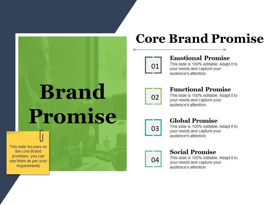 brand promise ppt slide examples