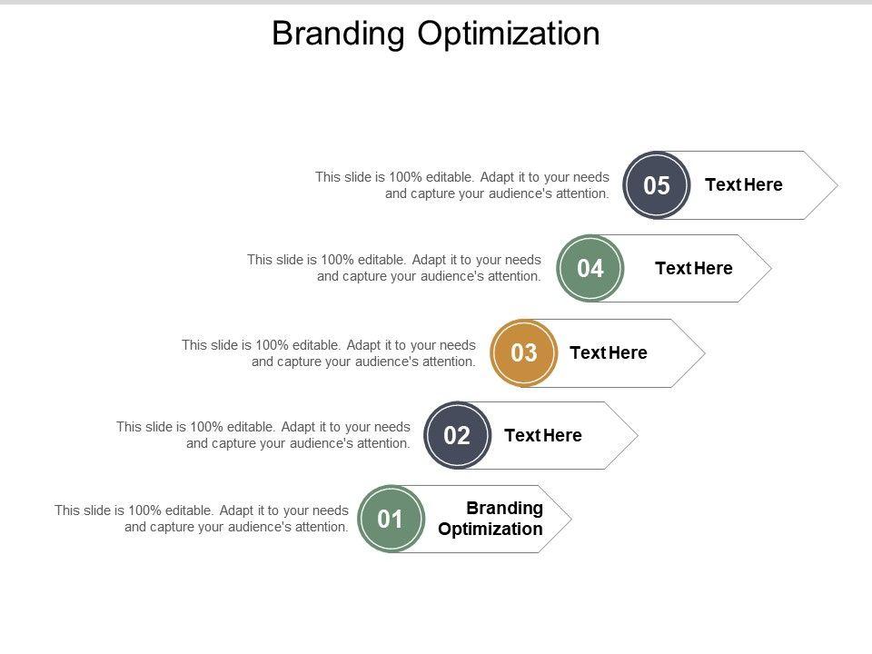 Branding Optimization Ppt Powerpoint Presentation Graphics