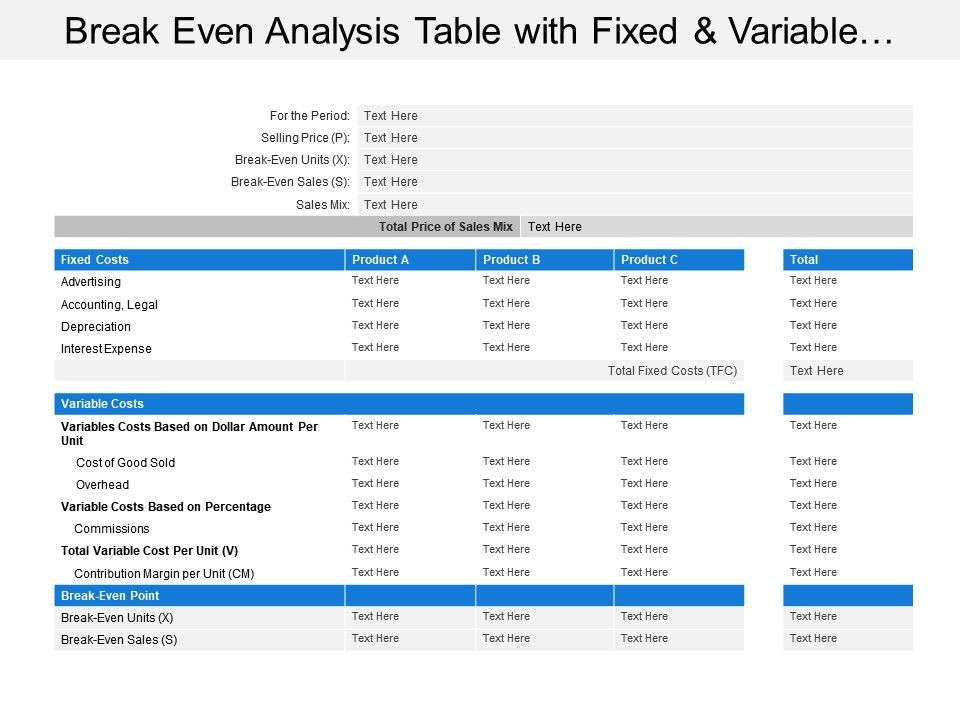 break_even_analysis_table_with_fixed_and_variable_costs_ppt_Slide01