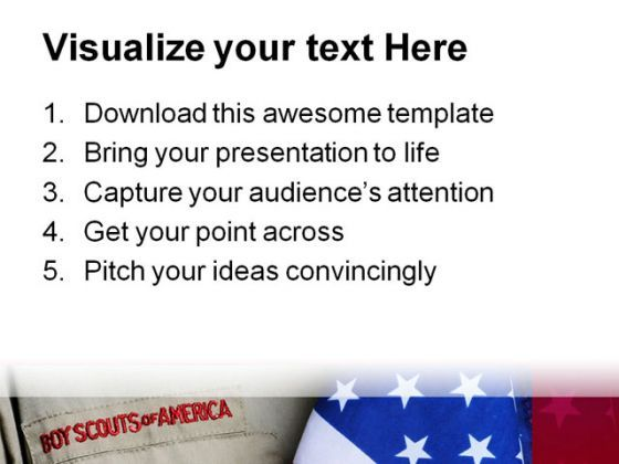 Bsa uniform americana powerpoint template 1010 powerpoint bsa uniform americana powerpoint template 1010 presentation themes and graphics slide03 toneelgroepblik Images