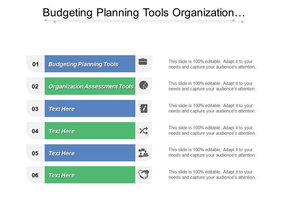 Budgeting Planning Tools Organization Assessment Tools Internal Audit Cpb Powerpoint Presentation Images Templates Ppt Slide Templates For Presentation