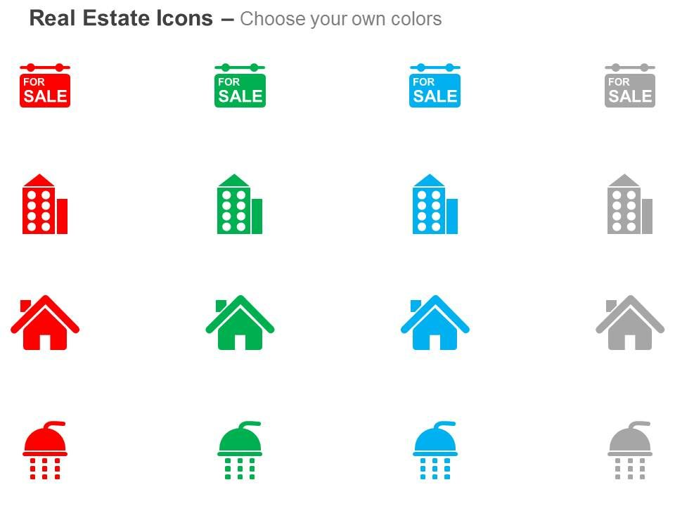 Apartment Building Graphic building for sale apartment home shower ppt icons graphics
