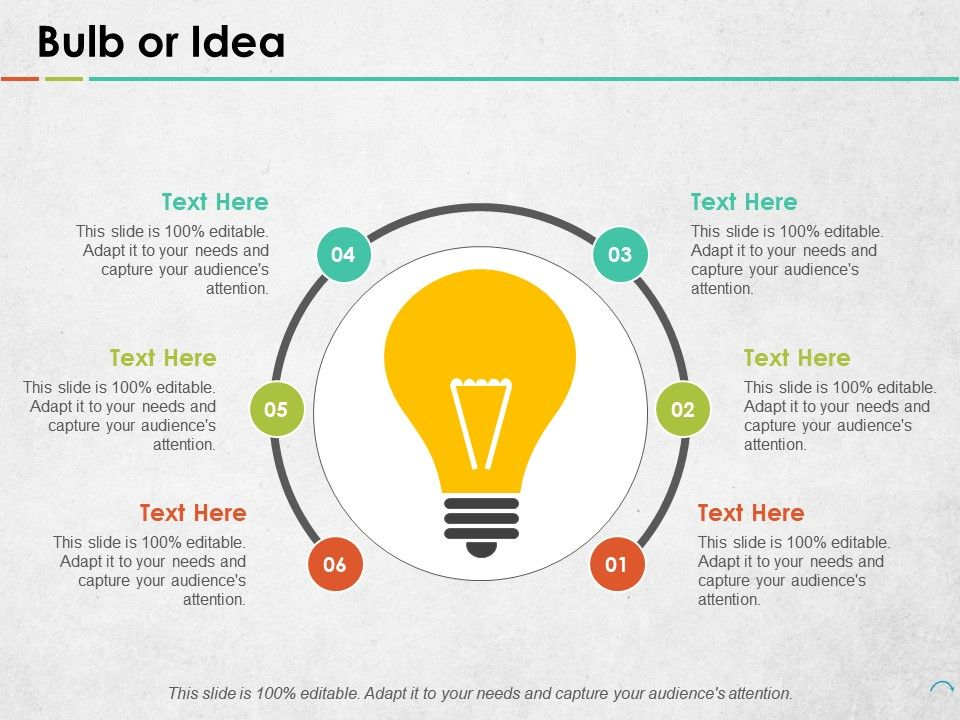 Bulb Or Idea Data Architecture Ppt Portfolio Objects | PowerPoint