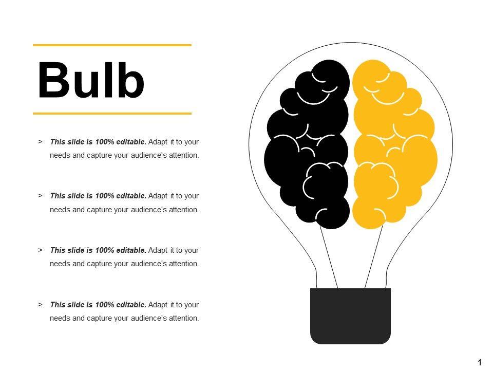 bulb ppt slide download powerpoint slide presentation sample