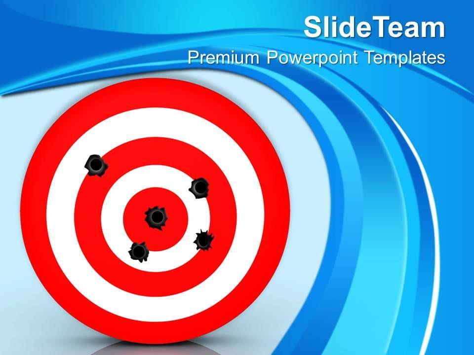 Bullet hole on target business powerpoint templates ppt themes and bulletholeontargetbusinesspowerpointtemplatespptthemesandgraphicsslide01 toneelgroepblik Images