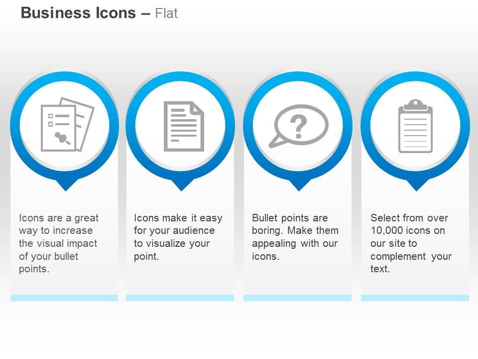 bulletins records management faq policy ppt icons graphics