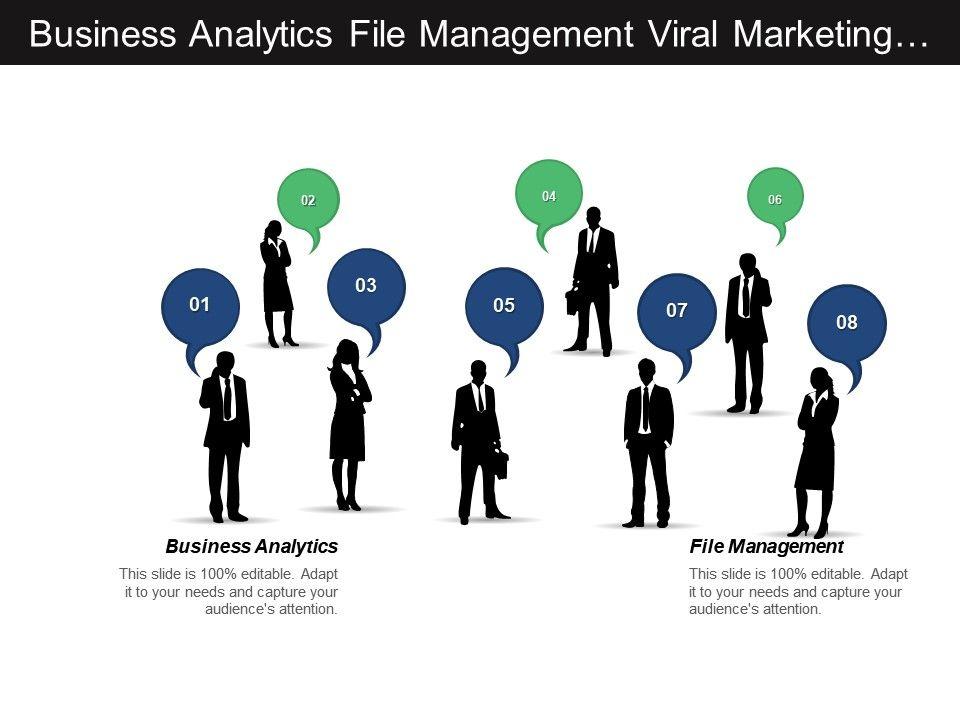 business_analytics_file_management_viral_marketing_organizational_change_cpb_Slide01