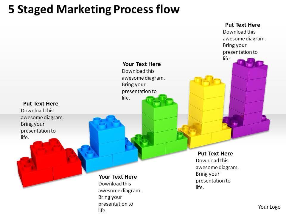 Business Architecture Diagrams Process Flow Powerpoint Templates PPT Backgrou